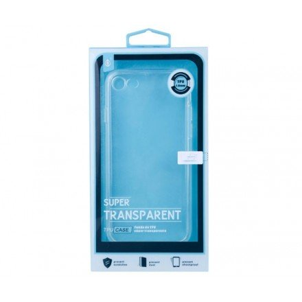 FUNDA TRANSPARENTE BQ AQUARIS M5  5 PULG. ONE+