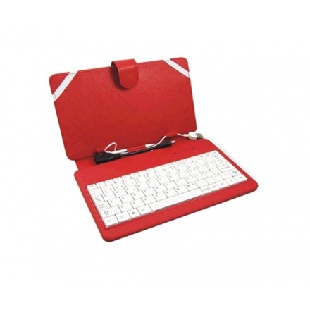 FUNDA TABLET CON TECLADO 7 PULGADAS SKY LINE ADAP USB A...