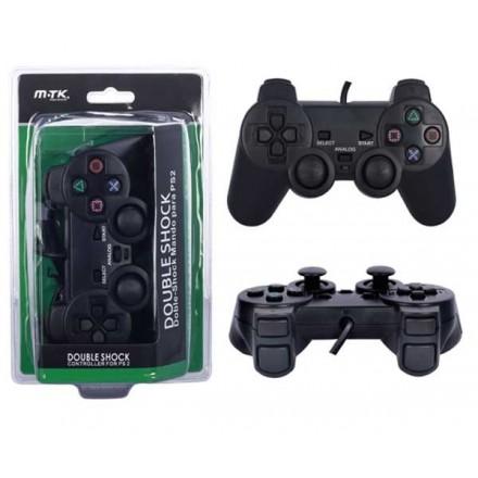 MANDO PS2 DUAL-SHOCK CON CABLE MTK K3305