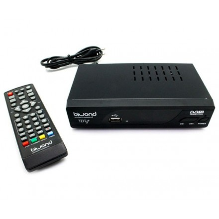 TDT HD DVB-T2 HDMI / SCART / REPRODUCTOR USB