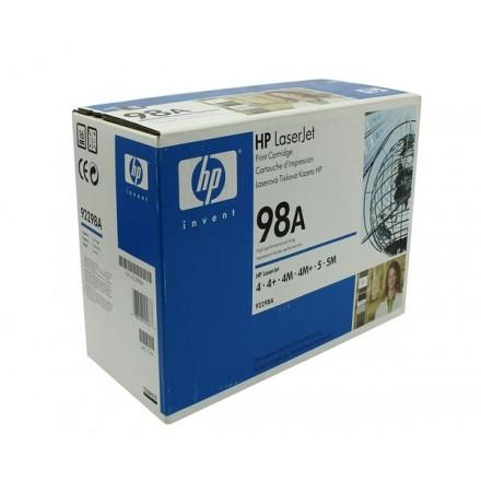 TONER ORIG. HP N98A 92298A NEGRO 6.8K  4M/5M
