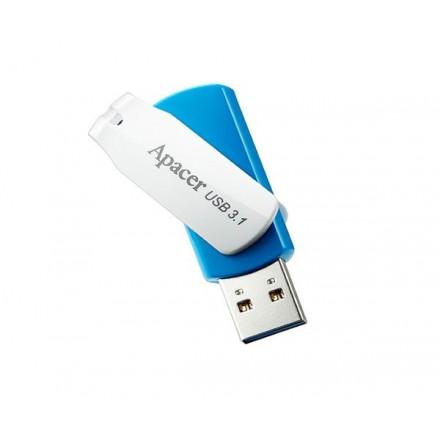 PENDRIVE APACER AH357 OCEAN BLUE 64GB USB 3.0 / 3.1 GEN 1...