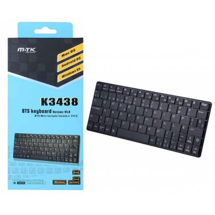 TECLADO BLUETOOH MINI K3438 IOS/ WINDOWS/ ANDROID  MTK