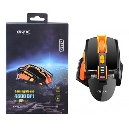 RATON GAMING LED PROGRAMABLE K3417 4800 DPI