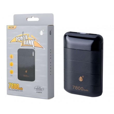 POWER BANK D2340 PANDAS 7800MAH CON DISPLAY 2XUSB 1A...