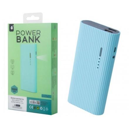 POWER BANK VALEN D2347 13000MAH 2XUSB 2.4A / LINTERNA /...