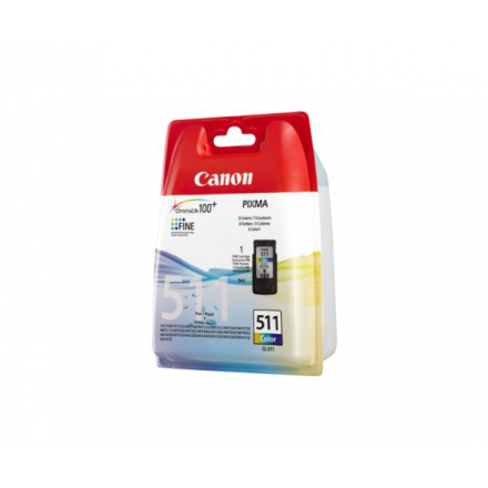 INKJET ORIG. CANON CL511 COLOR MP240/260