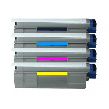 TONER COMP. OKI 43381905 AMARILLO C5600/5700 2000P