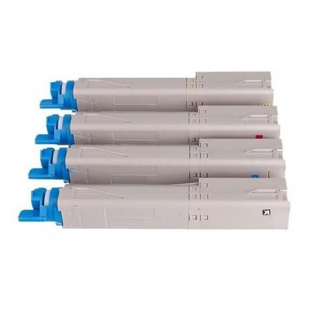 TONER COMP. OKI C3300 / C3400 / C3450 / C3600 AMARILLO...