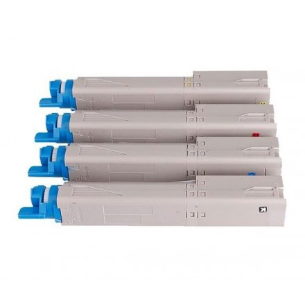 TONER COMP. OKI C3300 / C3400 / C3450/ C3600/ NEGRO 43459332