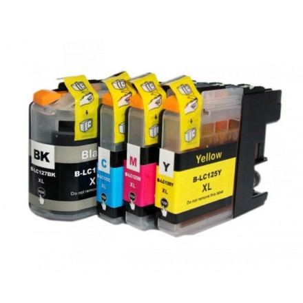 INKJET COMP. BROTHER LC125CLY YELLOW