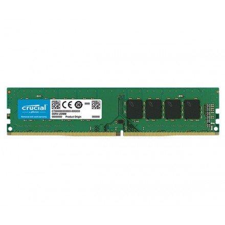 MEMORIA RAM CRUCIAL DDR4 4GB 2400MHZ / CL17 / DIMM /...