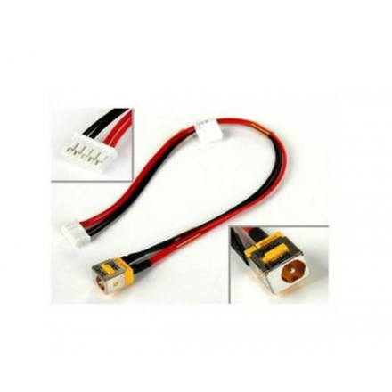 DC-JACK CON CABLE ACER ASPIRE 5735 / 5235 / 5335 5 PINES