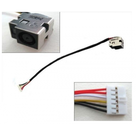 DC-JACK CABLE HP DV6 / CQ61 / CQ71 / G61 / 23CM
