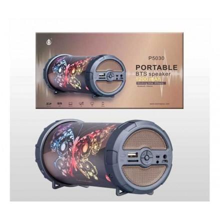 ALTAVOZ MINI TUBO FLY P5030 BLUETOOTH / FM / USB / MSD...
