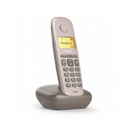TELEFONO INALAMBRICO DECT DIGITAL GIGASET A170 MARRON