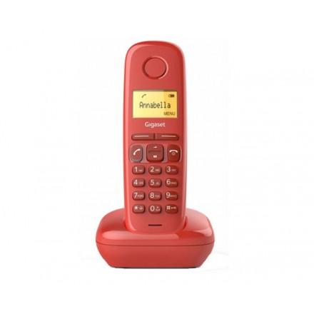 TELEFONO INALAMBRICO DECT DIGITAL GIGASET A170 ROJO