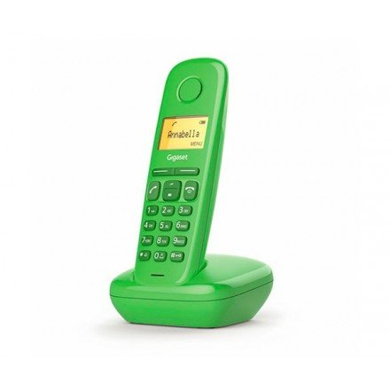 TELEFONO INALAMBRICO DECT DIGITAL GIGASET A170 VERDE