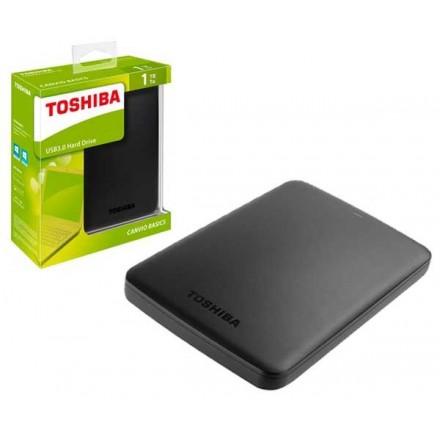 DISCO DURO EXTERNO TOSHIBA CANVIO BASICS / 1TB / 2.5 /...