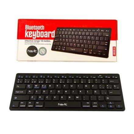 MINI TECLADO BLUETOOTH HAVIT HV-KB220BT NEGRO