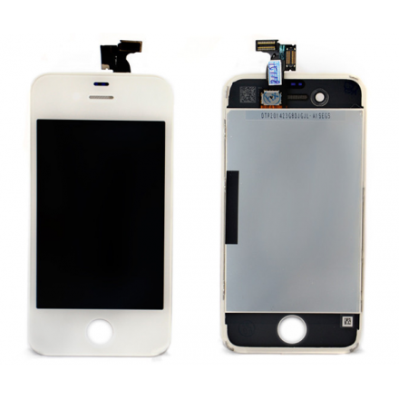 PANTALLA MOVIL TACTIL + LCD BLANCA IPHONE 4 A. CALIDAD