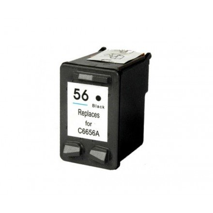 INKJET ALTERNATIVO HP N56 NEGRO  C6656A