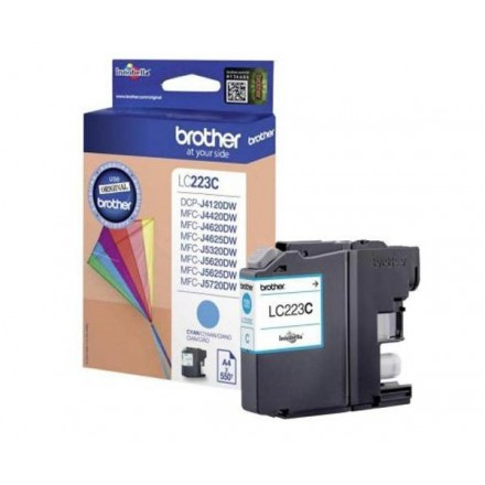 INKJET ORIG. BROTHER LC223 CYAN (550 PAG)