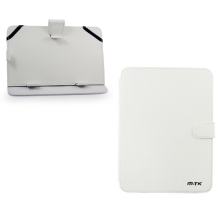 FUNDA TABLET 6-7 PULGADAS AJUSTABLE BLANCA MTK