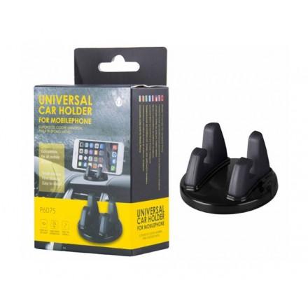 SOPORTE UNIVERSAL BARBELL SMARTPHONES P6075 NEGRO  ONE+
