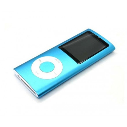 MP4 HOLIDAY CON DISPLAY AZUL MP3/FM