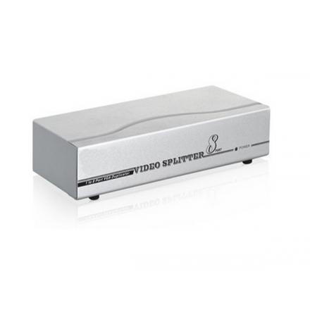 SPLITTER VGA 8 MONITORES X 1 PC CON ALIMENTACION