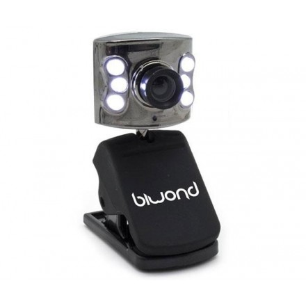WEBCAM OMNIRIX 1.3MPX + LEDS + MICROFONO