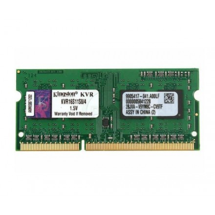 MEMORIA RAM OCASION SODIMM 4GB DDR3 1600 MHZ