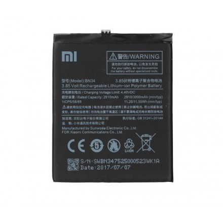 BATERIA MOVIL XIAOMI REDMI 5A BN34