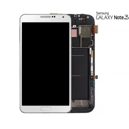 PANTALLA ORIGINAL SAMSUNG NOTE3 LCD + DIGITALIZADOR BLANCA