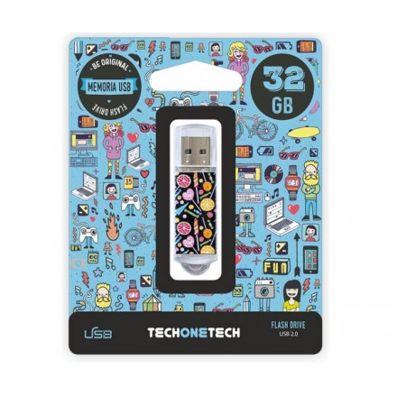 PENDRIVE ANIMADO USB 2.0 32GB - CANDY POP CANON LPI INCLUIDO