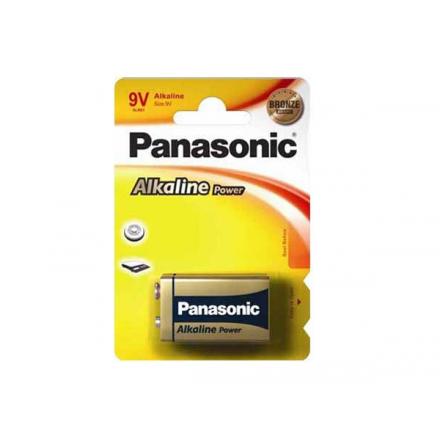 PILA PANASONIC ALKALINE 9V  6LR61 / 6LF22
