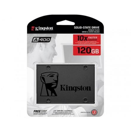 DISCO DURO 2.5 SSD KINGSTON 120GB SSDNOW SATA3 SA400...