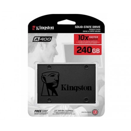 DISCO DURO 2.5 SSD KINGSTON 240GB SSDNOW SATA3 SA400...