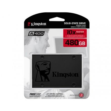 DISCO DURO 2.5 SSD KINGSTON 480GB SSDNOW SATA3 SA400...