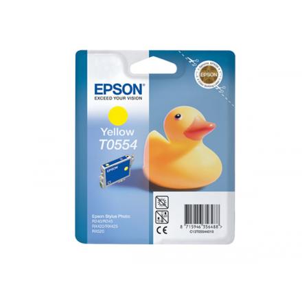 INKJET ORIG. EPSON T0554 AMARILLO RX420/425