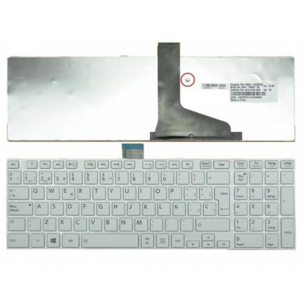 TECLADO TOSHIBA C850/C855/C870/L850/L855/L950 BLANCO CON...