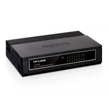 TP-LINK SWITCH 16P 10/100 DESKTOP