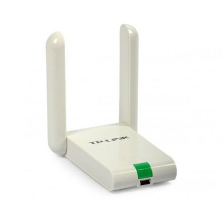 ADAPTADOR USB WIFI N 300MBPS TP-LINK + 2 ANT. EXTERNAS...