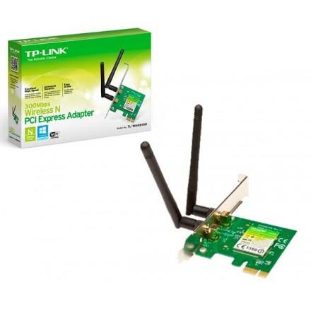 TP-LINK TARJETA DE RED WIFI N PCI-E 300M 2 X...