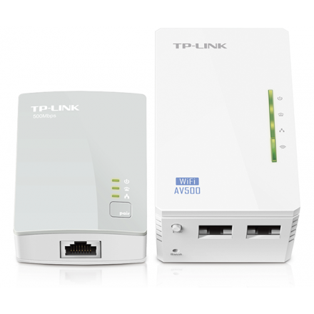 TP-LINK POWERLINE 300MB AV500 WIFI PLC KIT / TL-WPA4220KIT