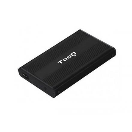CAJA EXTERNA 2.5 USB 2.0 SATA TOOQ NEGRA TQE-2510B