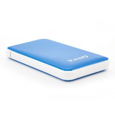 CAJA EXTERNA 2.5 USB 3.1 GEN1 SATA TOOQ / AZUL / 9.5MM /...