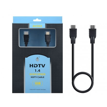 CABLE HDMI 1.4  M/M 10M 4K / AU203 ONE+