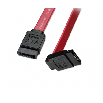 CABLE INTERNO SATA 90º  0.50 METROS
